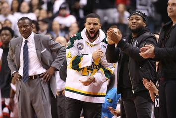 "NBA Issues Drake A Warning Over ""Use Of Bad Language"": Report"