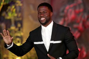 Kevin Hart Slides In To Photobomb Gucci Mane & Keyshia Ka'Oir