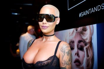 Amber Rose Shuts Down Rumors That She's Dating Lil Pump