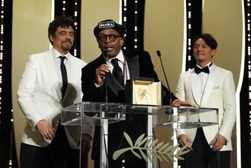 "Spike Lee's ""BlacKkKlansman"" Wins Grand Prix Award At Cannes"
