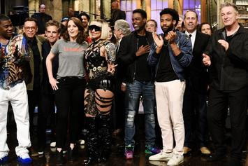 "Donald Glover, Chris Rock, Jerry Seinfeld & More Appear in Tina Fey's ""SNL"" Monologue"