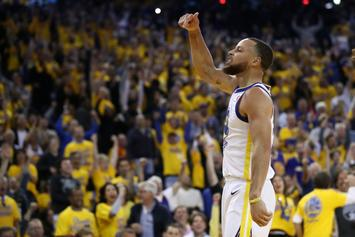 Warriors' Steph Curry Scolded By Mom For Profane Outburst