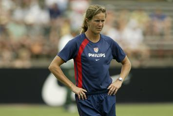 Brandi Chastain's Hall Of Fame Plaque Might Be Worst Of All Time
