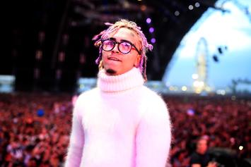 Lil Pump Has Trouble Counting How Many Watches Are On His Wrists