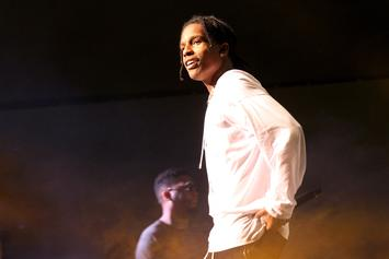 A$AP Rocky Responds To Rumors That He Told Pusha T About Drake's Alleged Son