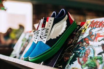 Marvel & Vans Team Up For New Avengers-Themed Collection