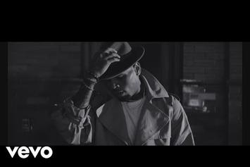 "Chris Brown Drops Black & White Video For ""Hope You Do"""