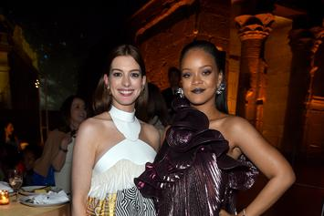 Rihanna Complimented Anne Hathaway On Her Butt & She Never Felt Better