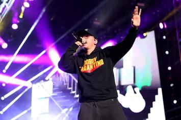 "Logic Gets Animated ""Bobby Boy"" Tattoo On His Wrist"