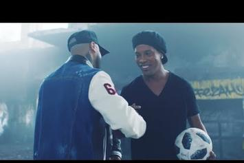 """Watch The Vibrant Visuals For Nicky Jam & Will Smith's """"Live It Up"""" World Cup Anthem"""