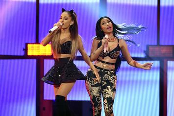 "Nicki Minaj & Ariana Grande Tease Official ""Bed"" Video"