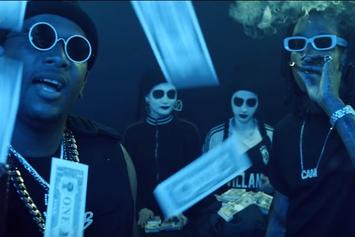 "Joe Moses & Wiz Khalifa Stack It Up In ""Bags"" Music Video"