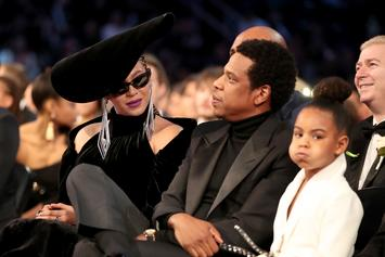 "Blue Ivy Isn't Trying To See Beyonce & Jay-Z's Sexy Photos During ""On The Run Tour II"""