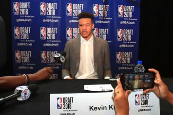 Draft Hopeful Kevin Knox Pressed By NBA Team Over Baby Daddy Hoax