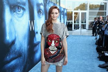 "Sophie Turner Explains Her Spoilery ""Game Of Thrones"" Tattoo"