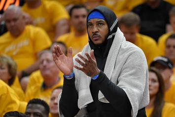 Carmelo Anthony Punches In $27.9 Million Player Option With Thunder