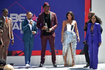 BET Awards Red Carpet Interview Interrupted By Police Officers On Live TV
