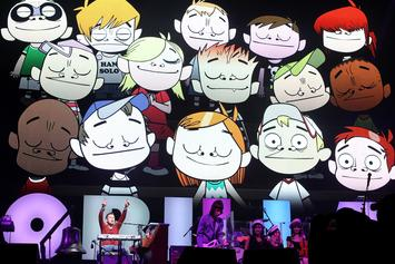 "Gorillaz Streamed A Performance Of Their Entire ""The Now Now"" Album In Tokyo"