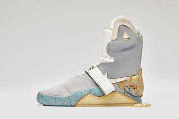 "Nike Air Mag Used In ""Back To The Future II"" Sells For Over $90K At Auction"