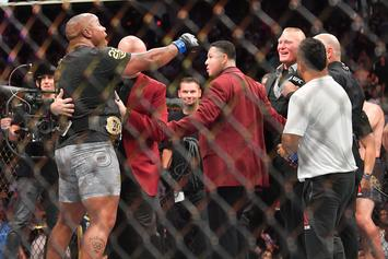 Brock Lesnar Challenges New UFC Heavyweight Champ Daniel Cormier