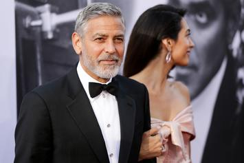 George Clooney Scooter Crash Video Shows The Star Being Thrown Into The Air