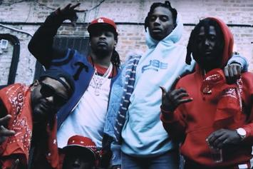 """Jim Jones Drops Off New Video For """"Banging"""" Featuring Mozzy"""