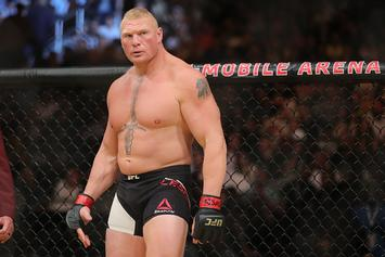 "Nick Diaz Calls Out ""Dick Chest"" Brock Lesnar"