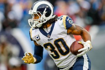 """Todd Gurley Suggests NFL Players Are """"Mad About NBA Contracts"""""""