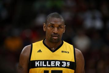 Metta World Peace Ejected 2 Minutes Into Game For Punting Basketball