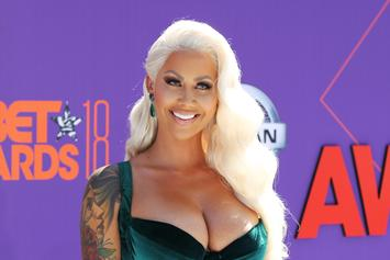 Amber Rose Spotted Holding Hands With Possible New Boo