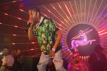 """Travis Scott Reportedly Plays """"Astroworld"""" For Epic Records"""