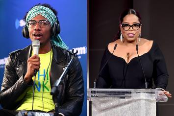 """Nick Cannon Would Smash Oprah & Her Best Friend: """"They Both Got Ass"""""""