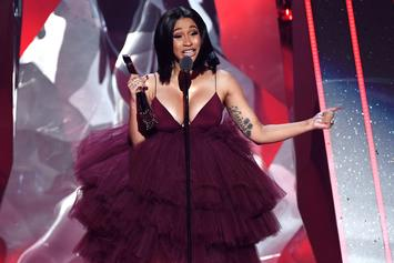 "Cardi B Asks ""Who Want The Smoke?"" With New Meme-Worthy Photo"