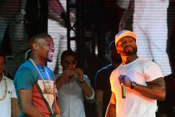 50 Cent Says He Warned Gervonta Davis About Floyd Mayweather Jr.