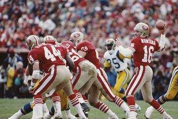 "49ers To Honor Joe Montana & Dwight Clark With 11-Feet-Tall ""The Catch"" Statue"