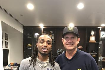 "Michigan's Jim Harbaugh: ""Migos & Drake Will Knock Everyone's Socks Off"""