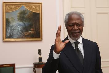 Kofi Annan, Nobel Peace Prize Winner & First Black African U.N. Leader, Passes Away