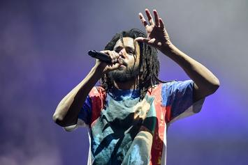 """J. Cole Delivers Scorching Energy To Sold Out Staples Center For """"KOD"""" Tour"""