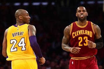 "Kobe Bryant Says His Die Hard Fans Will ""Fall In Line"" When It Comes To LeBron James"