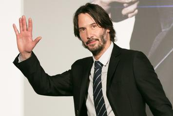 Gun-Toting Keanu Reeves Atop A Horse Is Now Meme Fuel