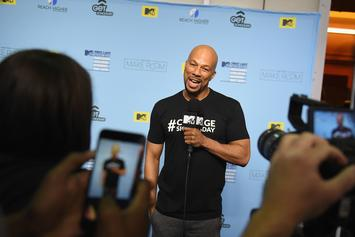"Common Joins Michelle Obama's Voter Campaign As A Full-Fledged ""Blue"" Recruiter"