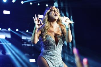 """Mariah Carey Teases New Single """"GTFO"""" In Sultry Lingerie"""