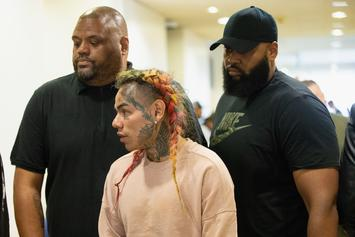 Tekashi 6ix9ine's Crew Beat Down Fan Who Rushes The Stage In Russia