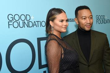 Chrissy Teigen Says Eating Her Placenta Stopped Postpartum Depression