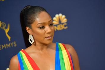 Tiffany Haddish & Katt Williams Squash Beef At The Emmy's; Take Picture Together