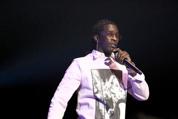 """Young Thug Teases """"Barter 7"""" With Bill Cosby Photo"""