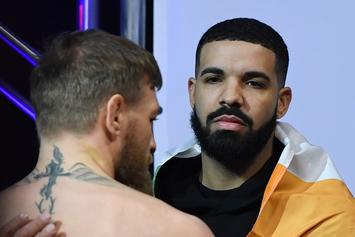 Drake Shows Support For Conor McGregor At UFC Weigh-Ins
