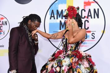 Cardi B & Offset Surrounded By Bodyguards After American Music Awards
