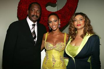 """Beyonce's Dad Surprised Her Backstage During """"On The Run 2"""" Finale"""