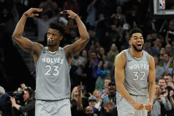 """Jimmy Butler Holds """"Players-Only Meeting"""" As Wolves Cancel Practice: Report"""